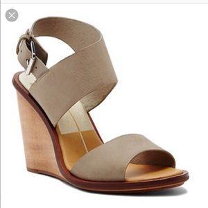 Dolce Vita Wooden Wedge Heels